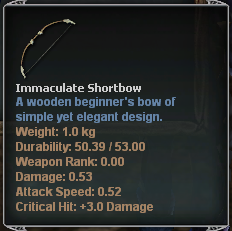 Immaculate Bow
