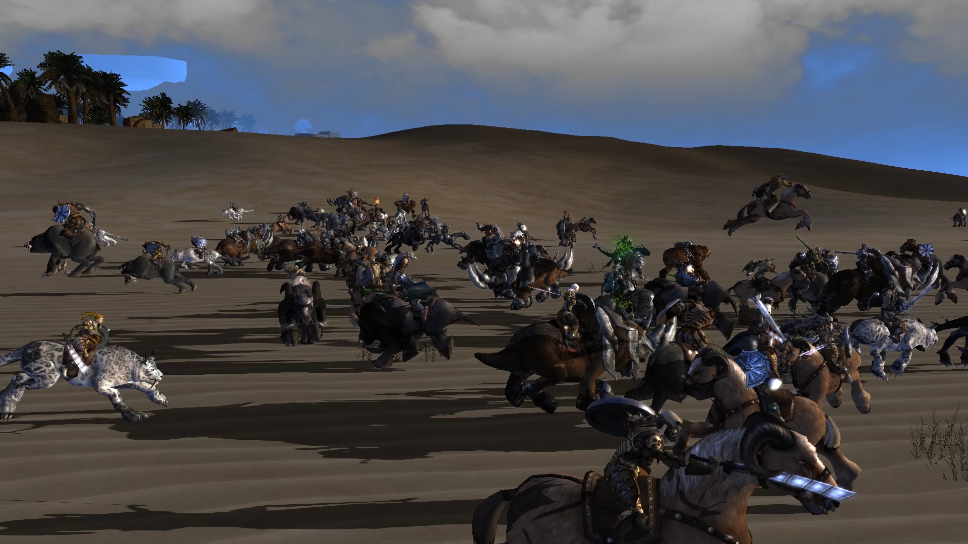 Open World Mount Fighting
