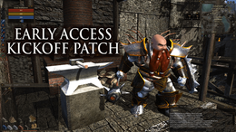 Early Access Kick Off Patch
