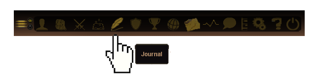 Journal on Menu
