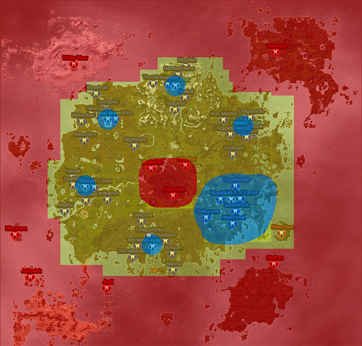 Zone Change Map